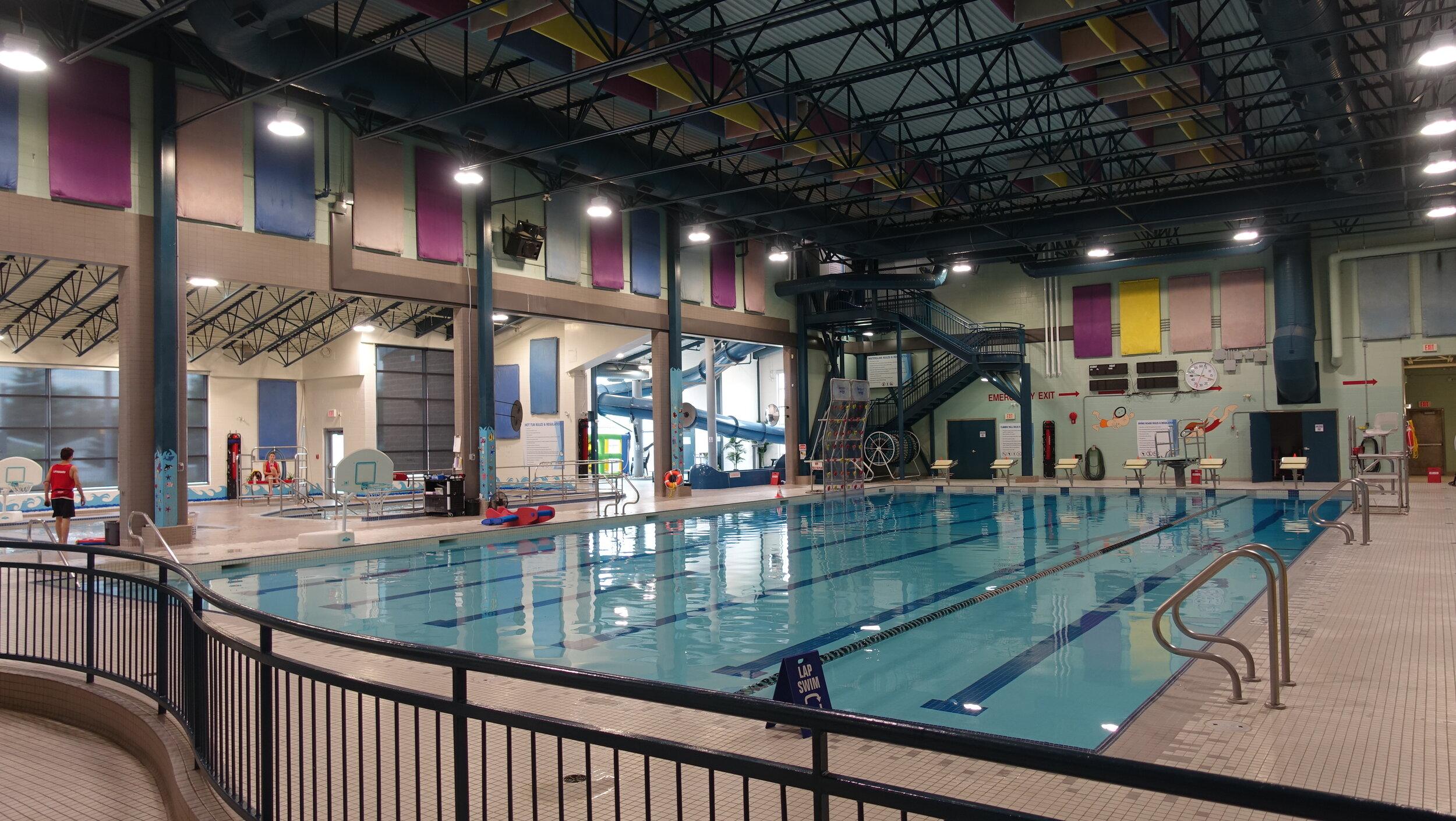 Strathmore's Aquatic Centre