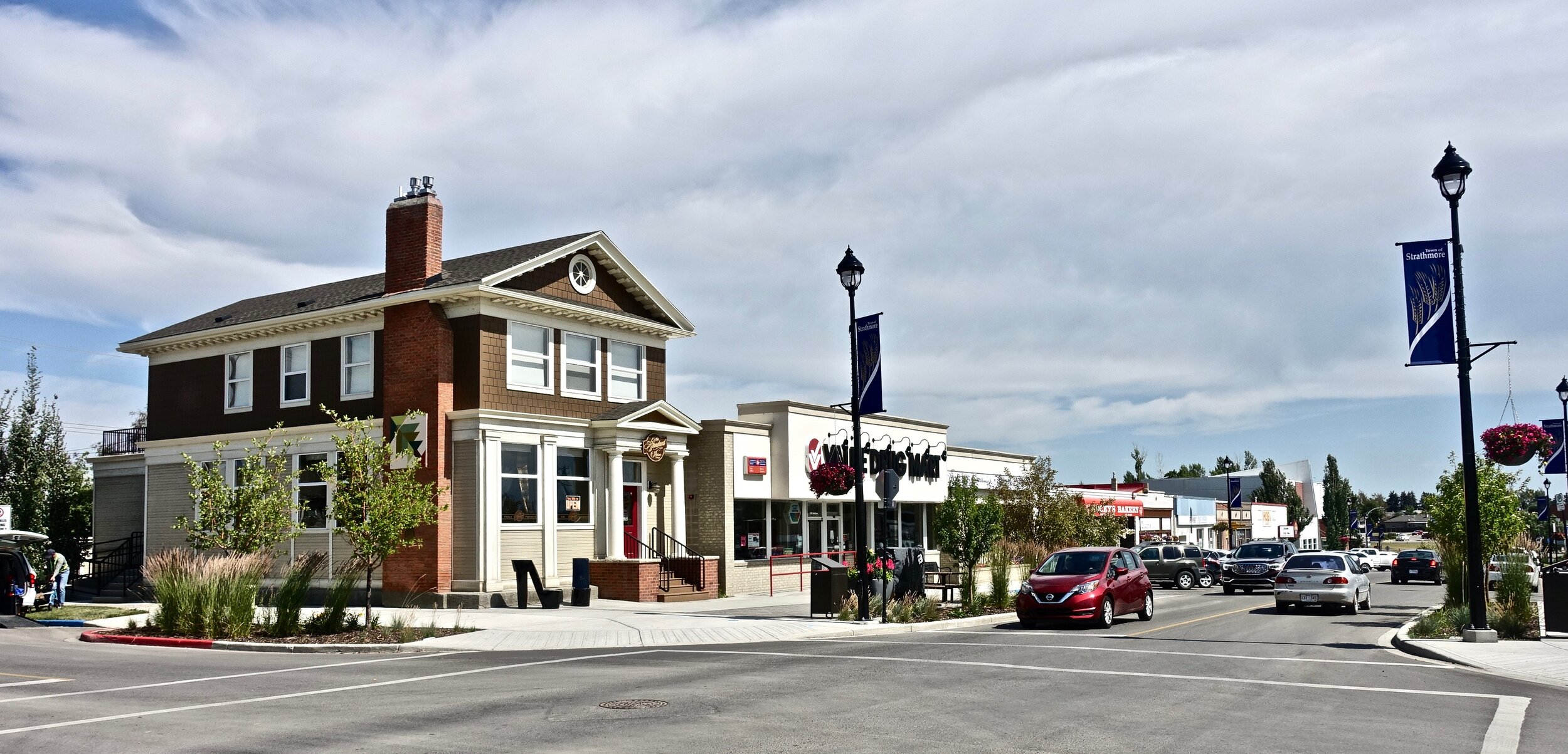 Strathmore's Main Street.
