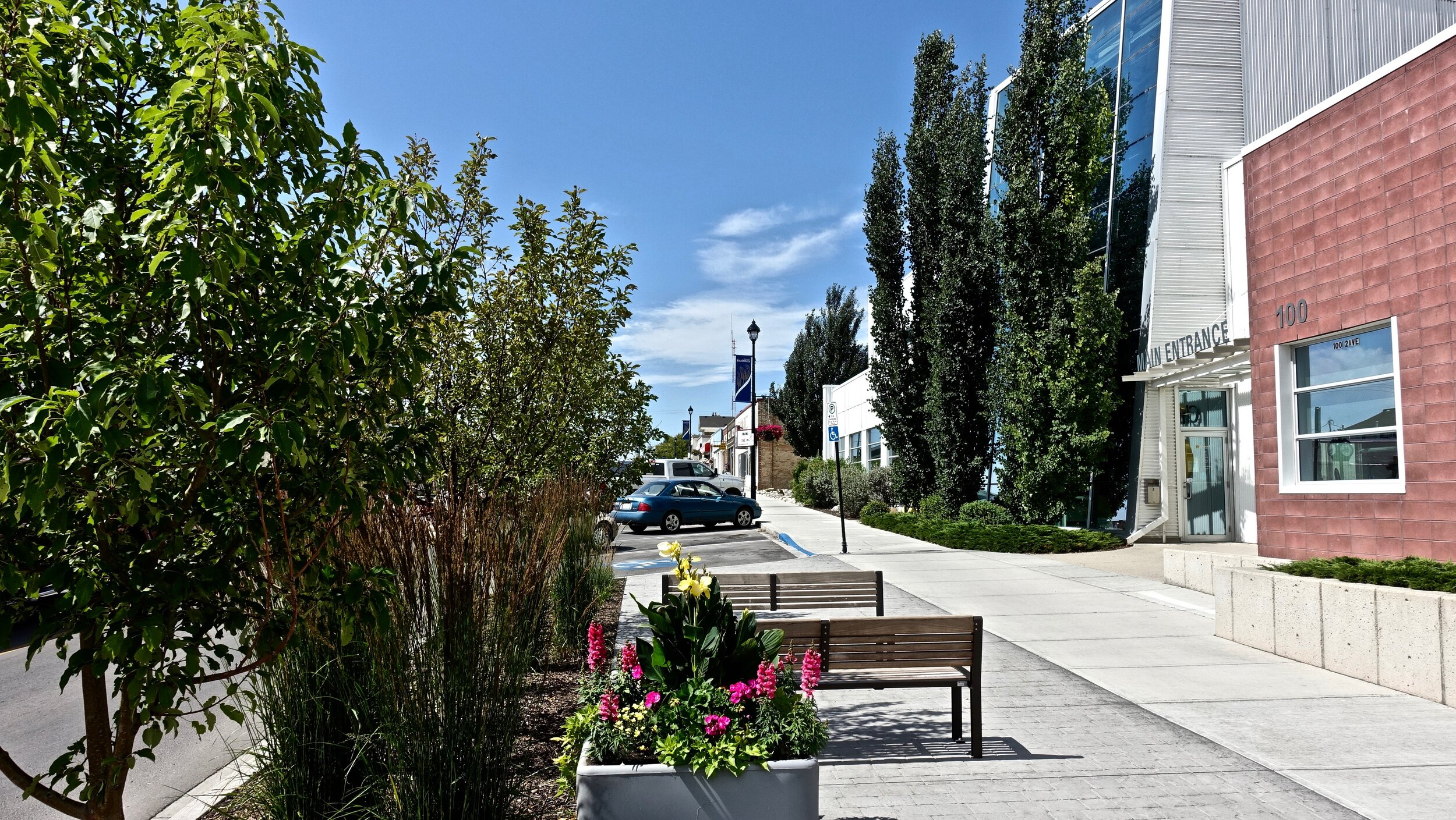Strathmore's downtown streetscape improvements are just the beginning of a major downtown renaissance.