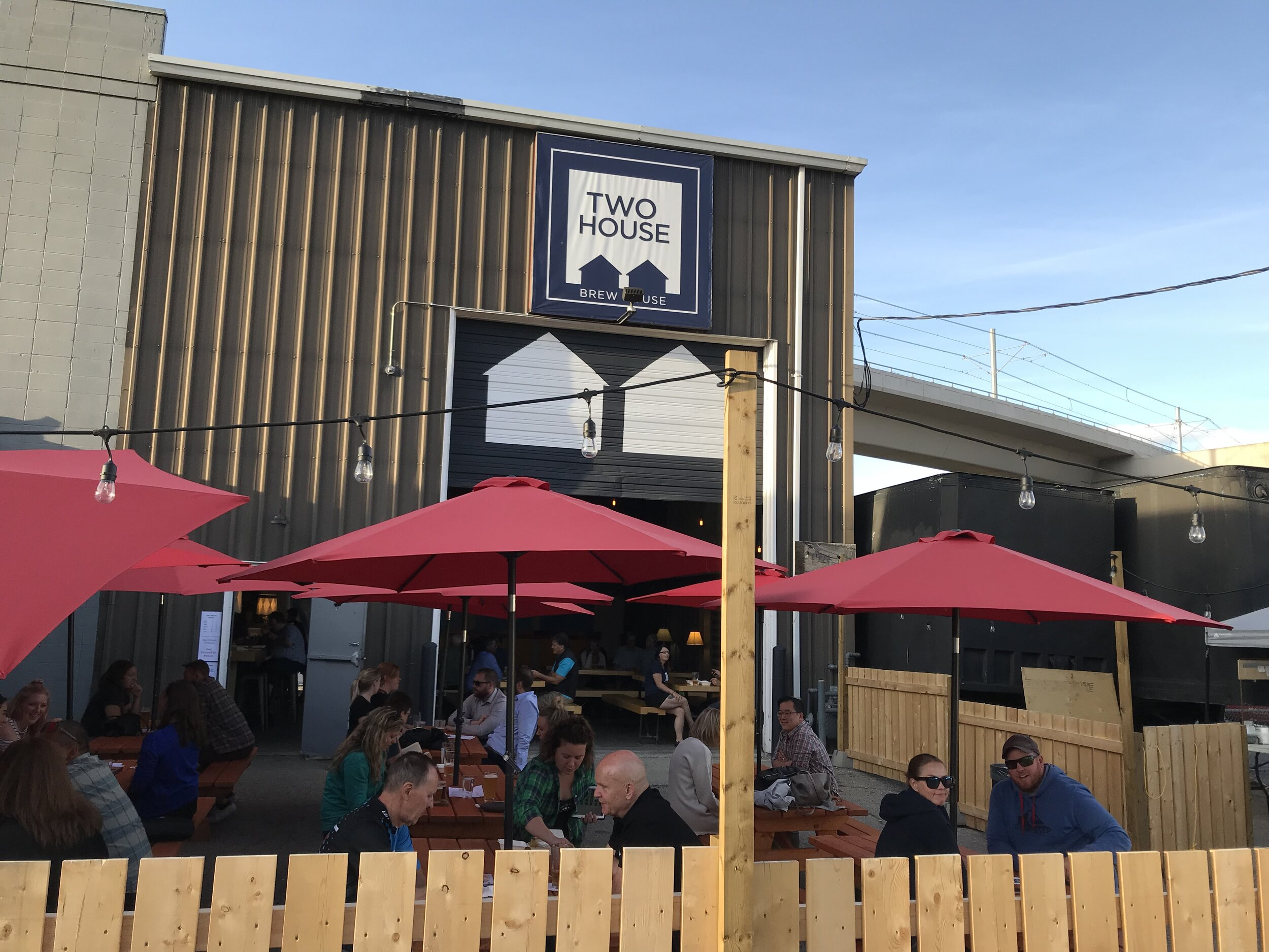 Two House Brewhouse is a great addition to Sunalta's urban playground.