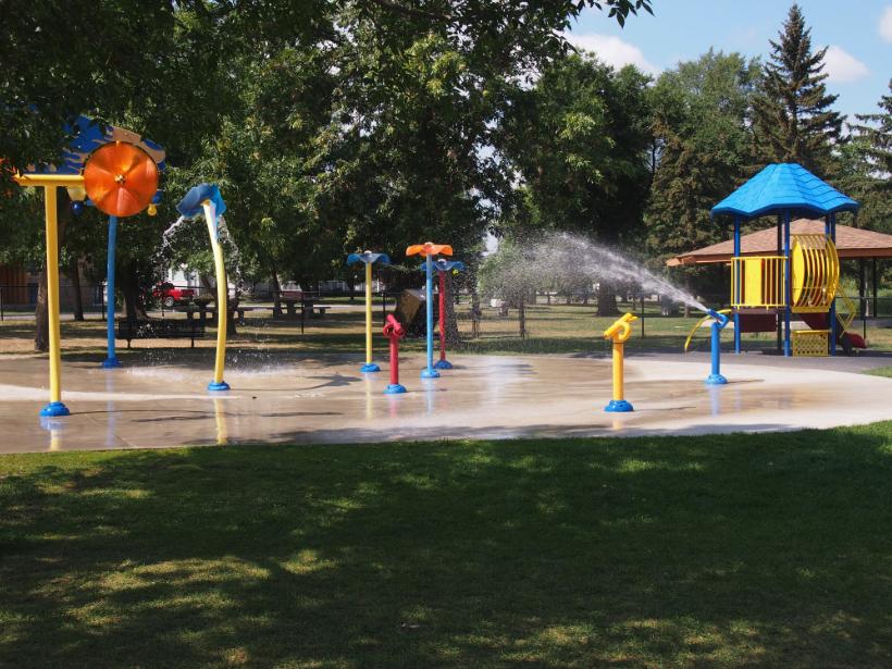Kinsmen Spray Park