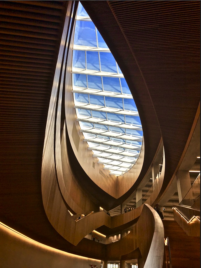 New Central Library staircase
