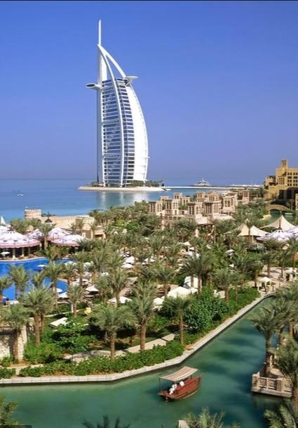 Burj Al Arab Jumeriah hotel in Dubai