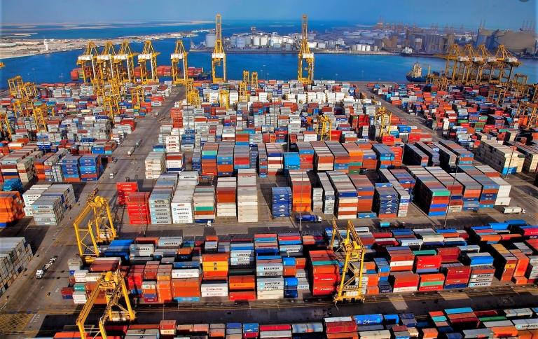 Dubai is a major shipping centre.