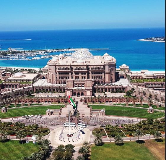 Emirates Palace (hotel) in Dubai