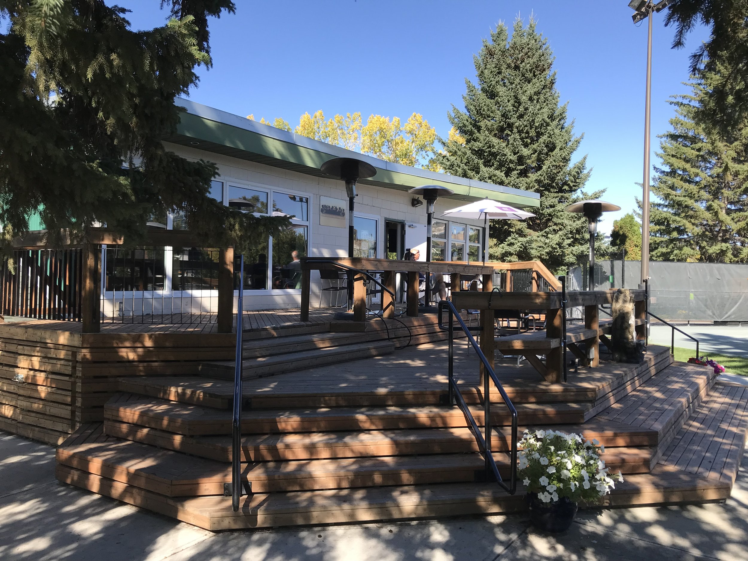 Calgary Tennis Club Cafe is a hidden gem.