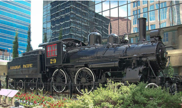 Downtown Calgary also lost #29 Locomotive when CPR moved its headquarters from downtown to its historic Ogden Yards. This is understandable, but given the important role the CPR played in shaping our downtown and city there should be major train monument in a prominent location in our downtown. FYI: Every noon hour the trains whistle use to blow. It is the little things that make exploring urban places fun.