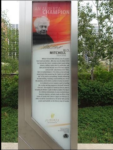 W.O. Mitchell's sheaf