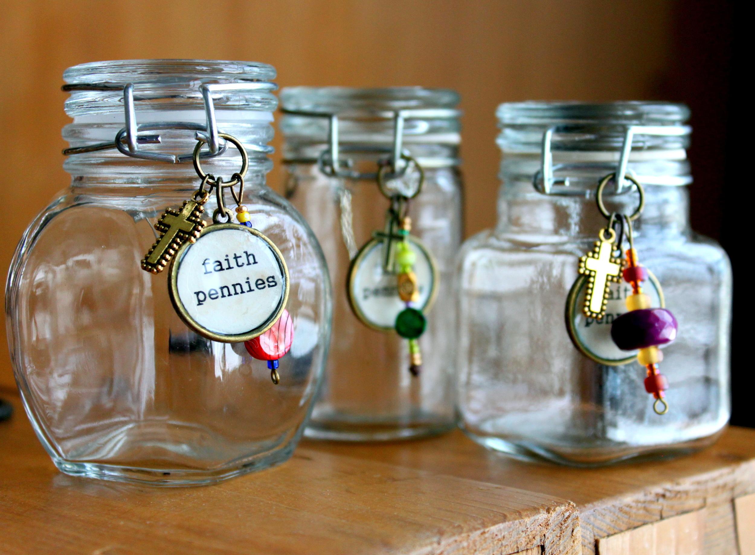 Faith Penny Jars