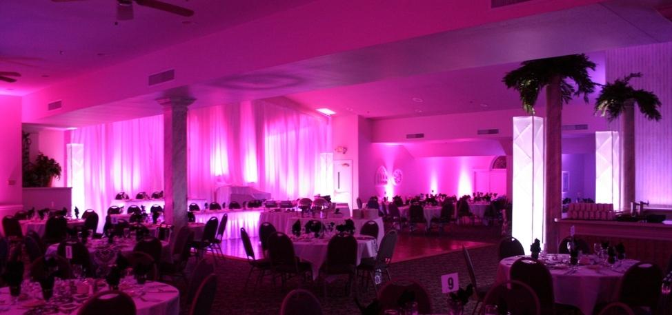 Elegant Room Event Lighting Dj4u Peoria Dj Service
