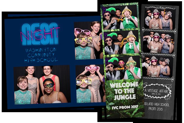 School Dance Photo Booths From DJ4U