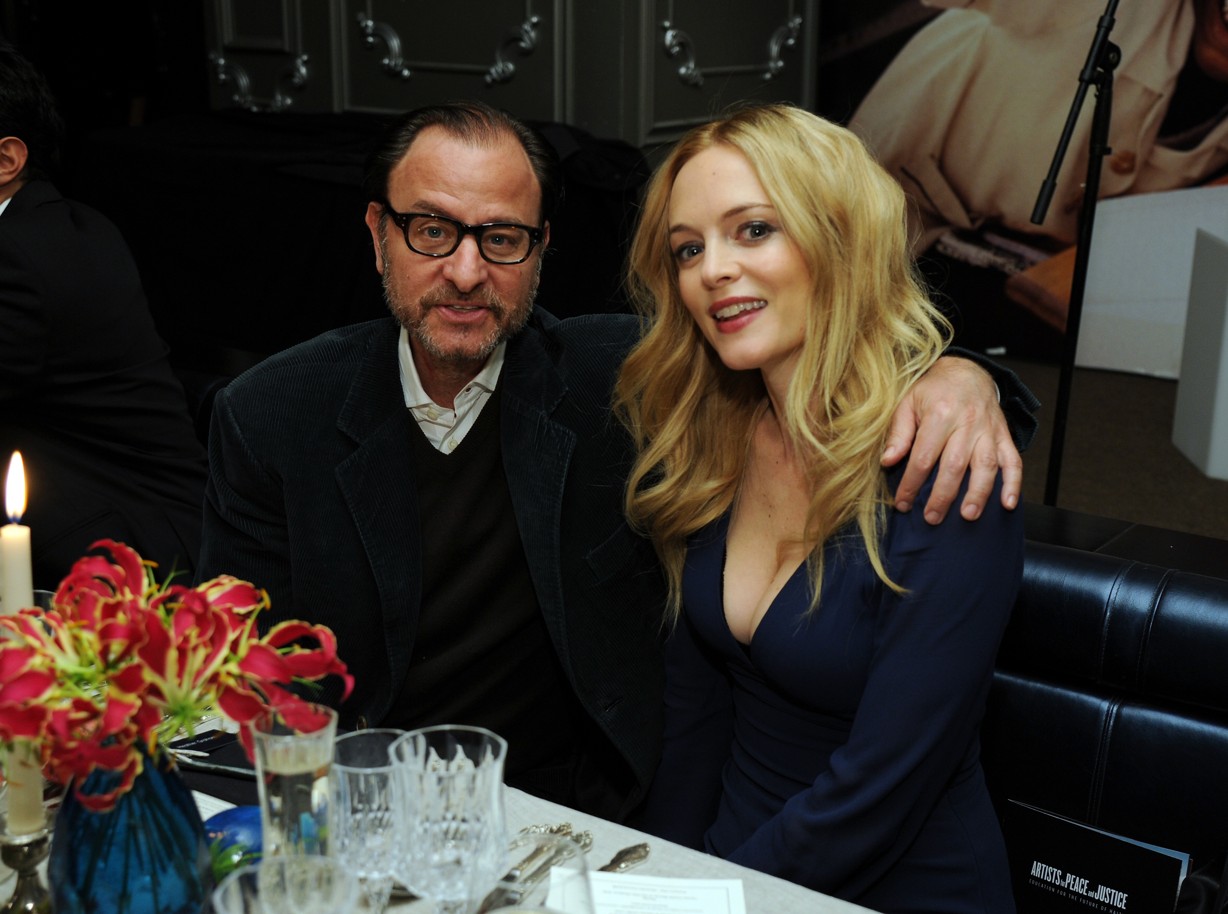 FISHER STEVENS AND HEATHER GRAHAM