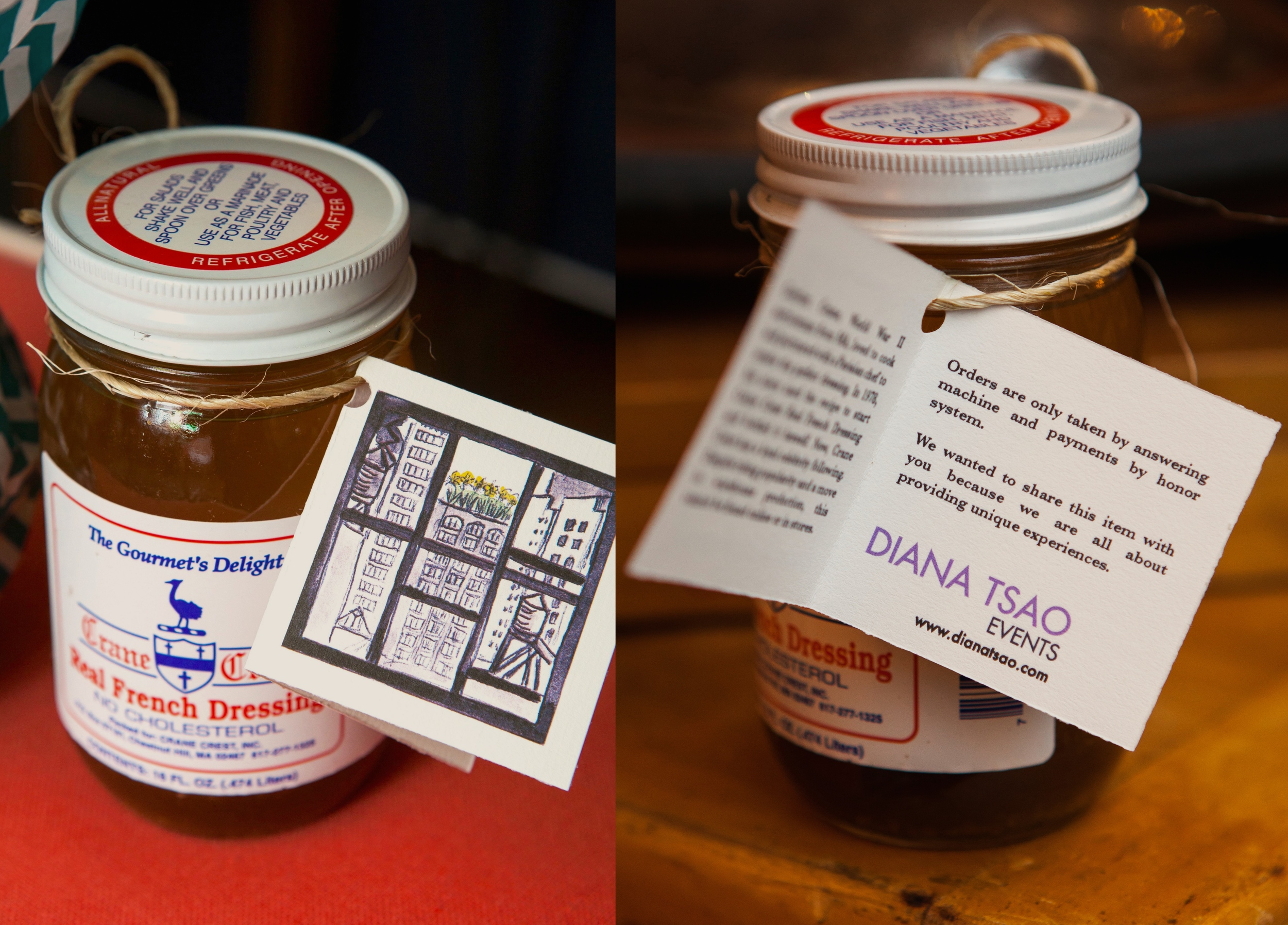 HARD-TO-FIND DRESSING PARTING GIFT FROM DIANA TSAO EVENTS