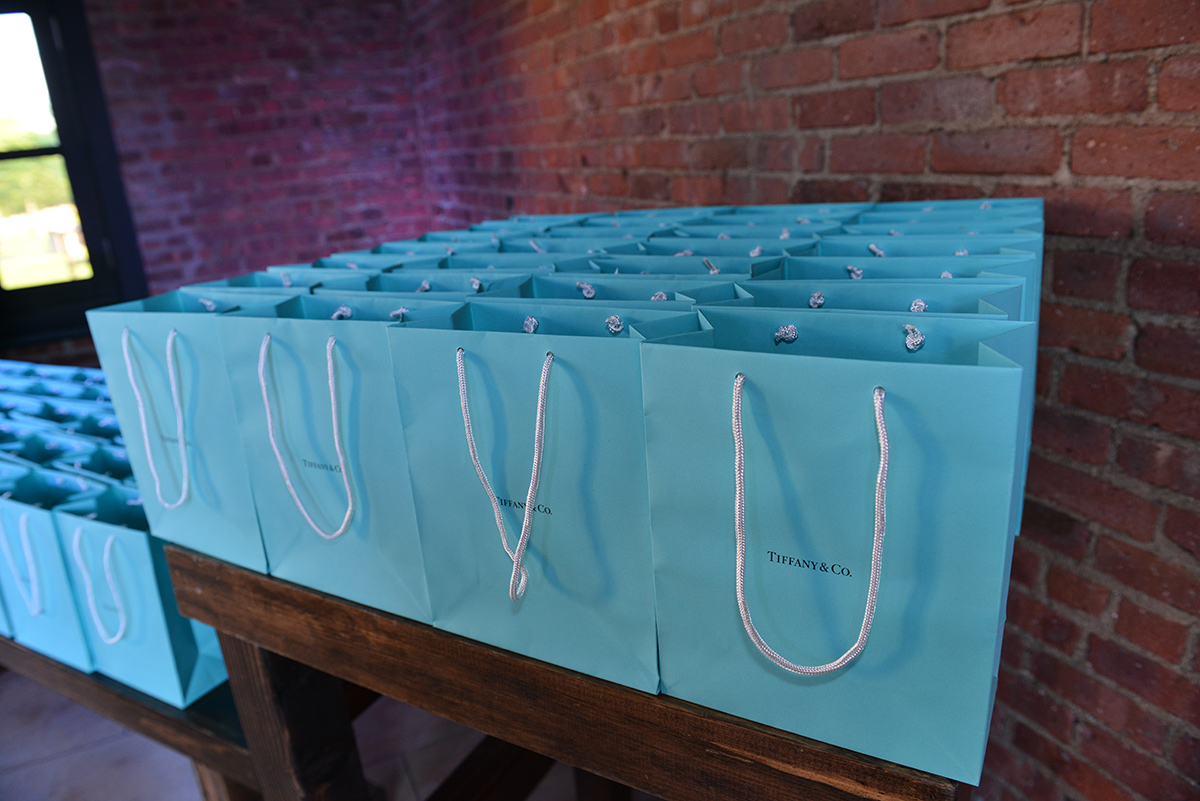 VIP PARTY SWAG BAG FROM TIFFANY & CO