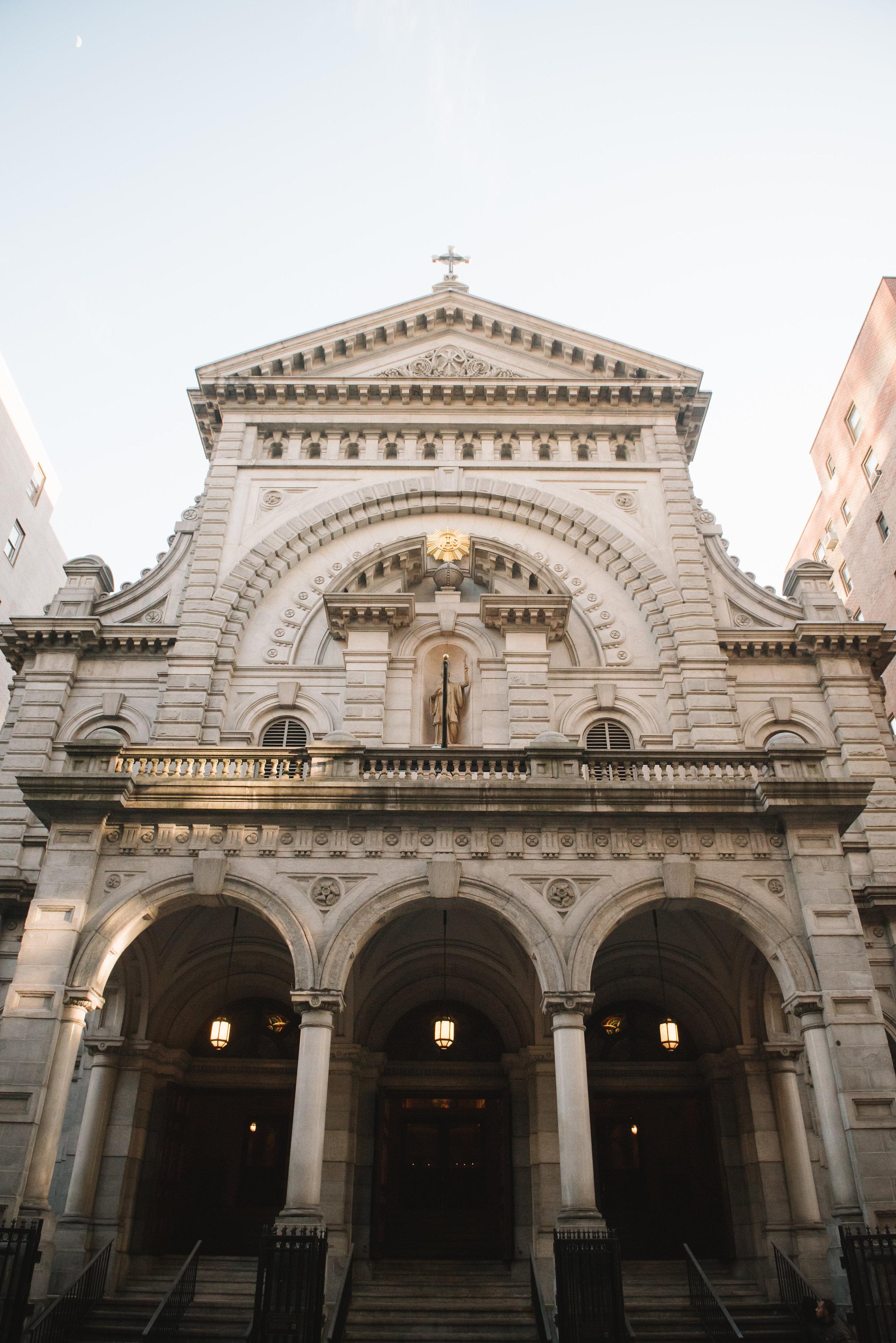 THE CHURCH OF ST FRANCIS XAVIER