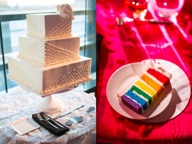 BUSINESS ON THE OUTSIDE, RAINBOW PARTY ON THE INSIDE!