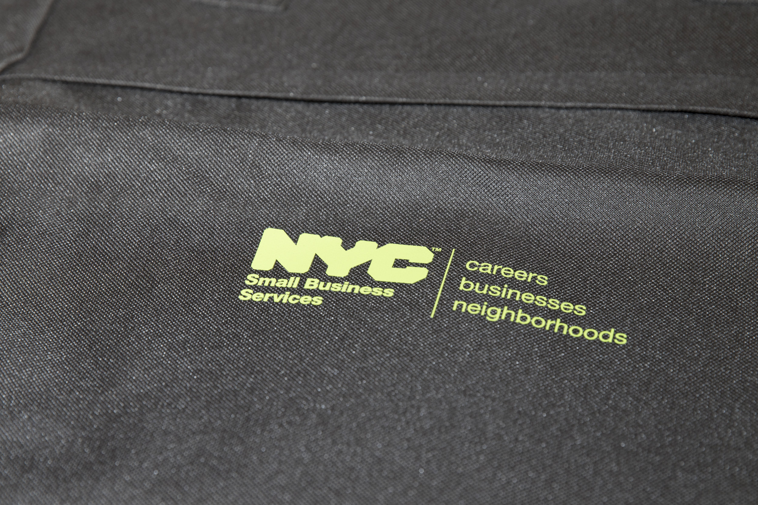 NYC Small Business Services swag