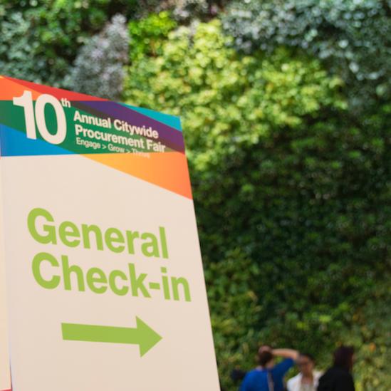 10th Annual Procurement Fair Check-In