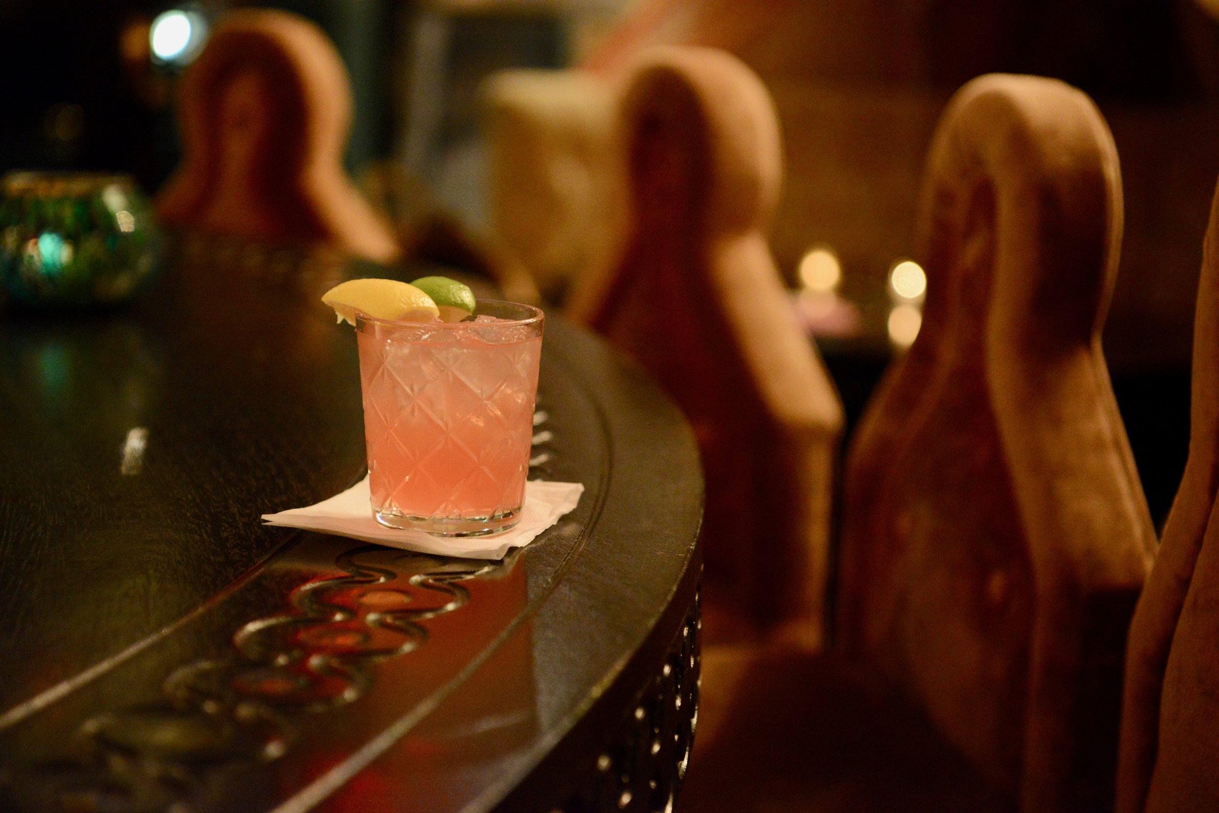 Signature cocktail, Black Widow