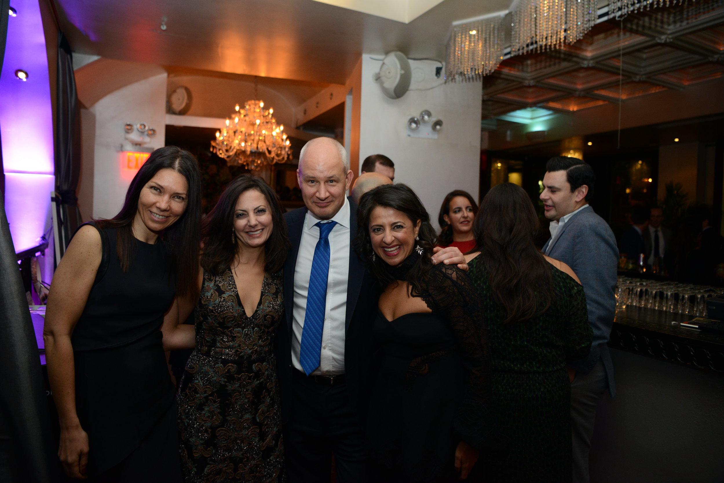 Co-Founders Heather Ibrahim-Leathers and Elaine Barsoom with Ambassador Peter Wilson