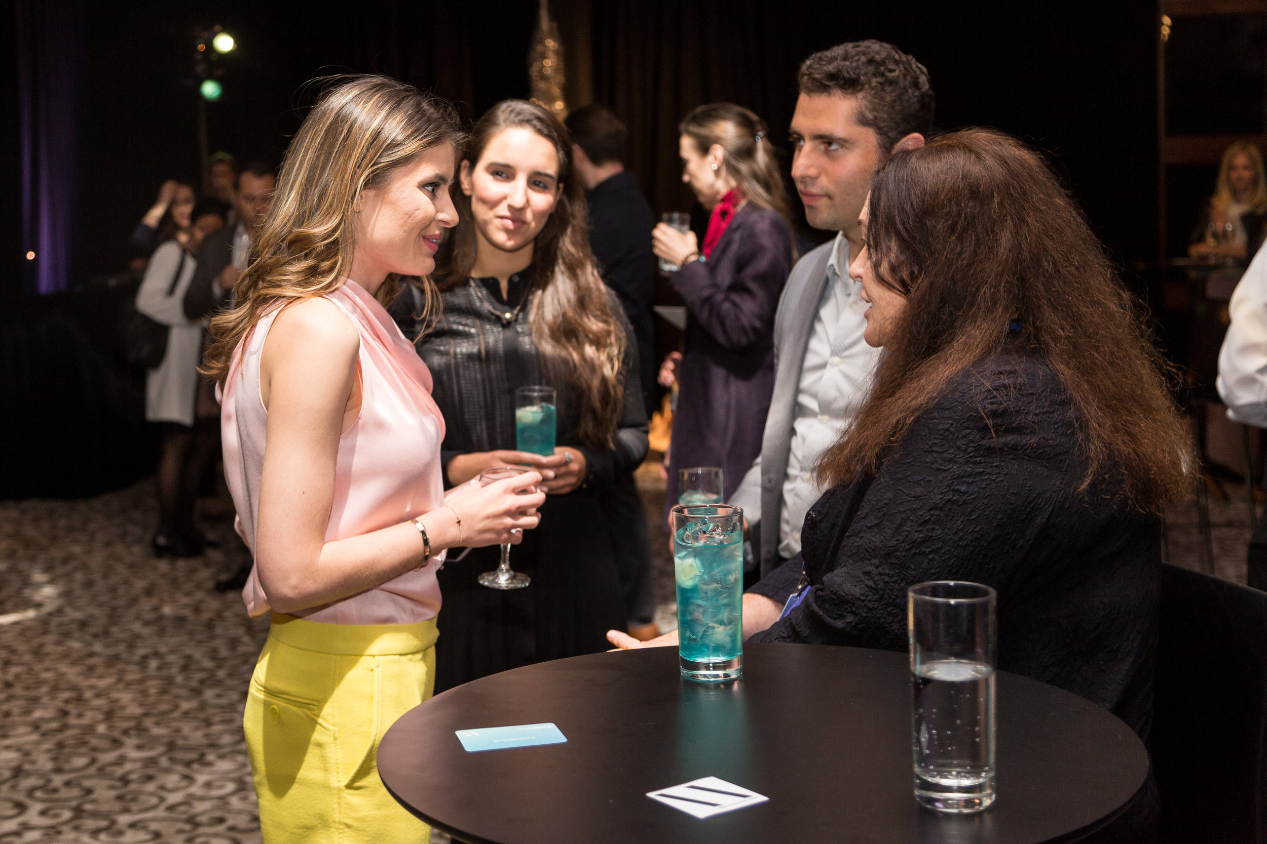 OCEAN GENERATION FOUNDER DAISY KENDRICK CHATTING WITH GUESTS