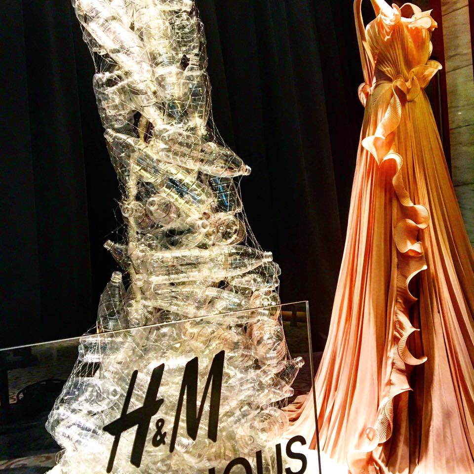 H&M'S BIONIC DRESS