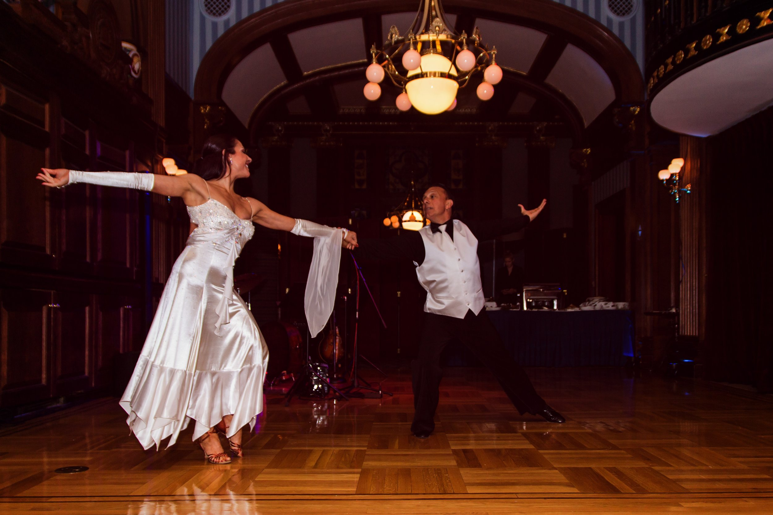Graceful dancers captivate guests