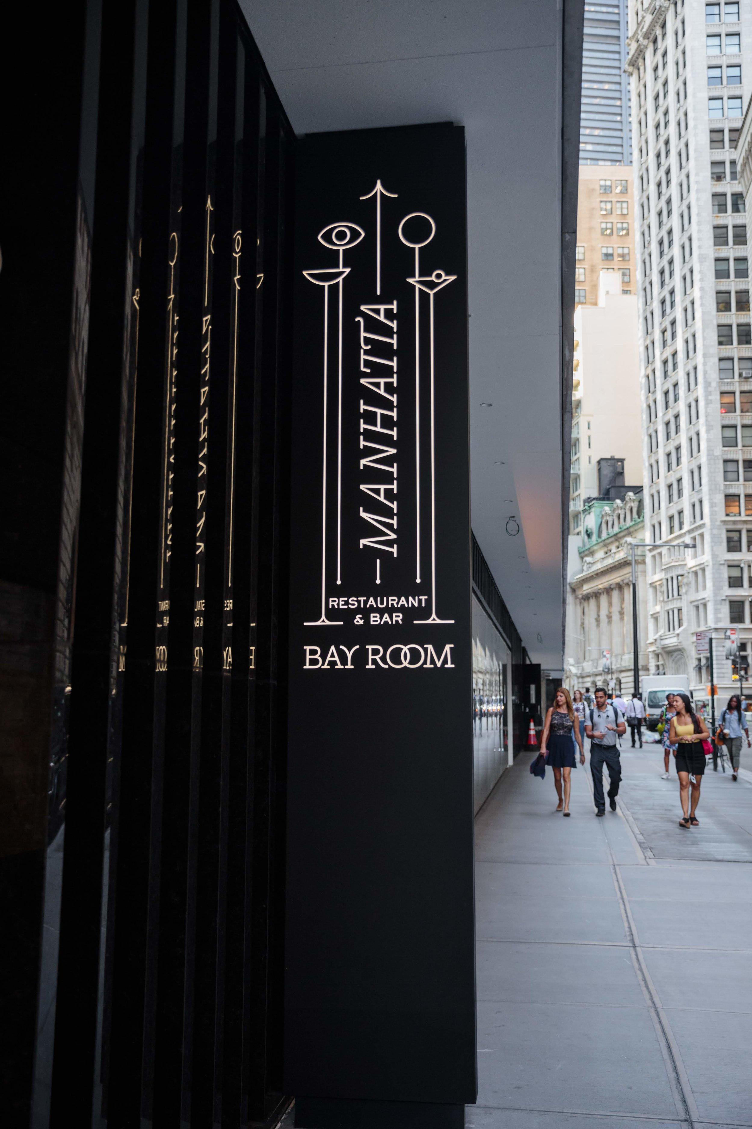 Bay Room/Manhatta Street Entrance