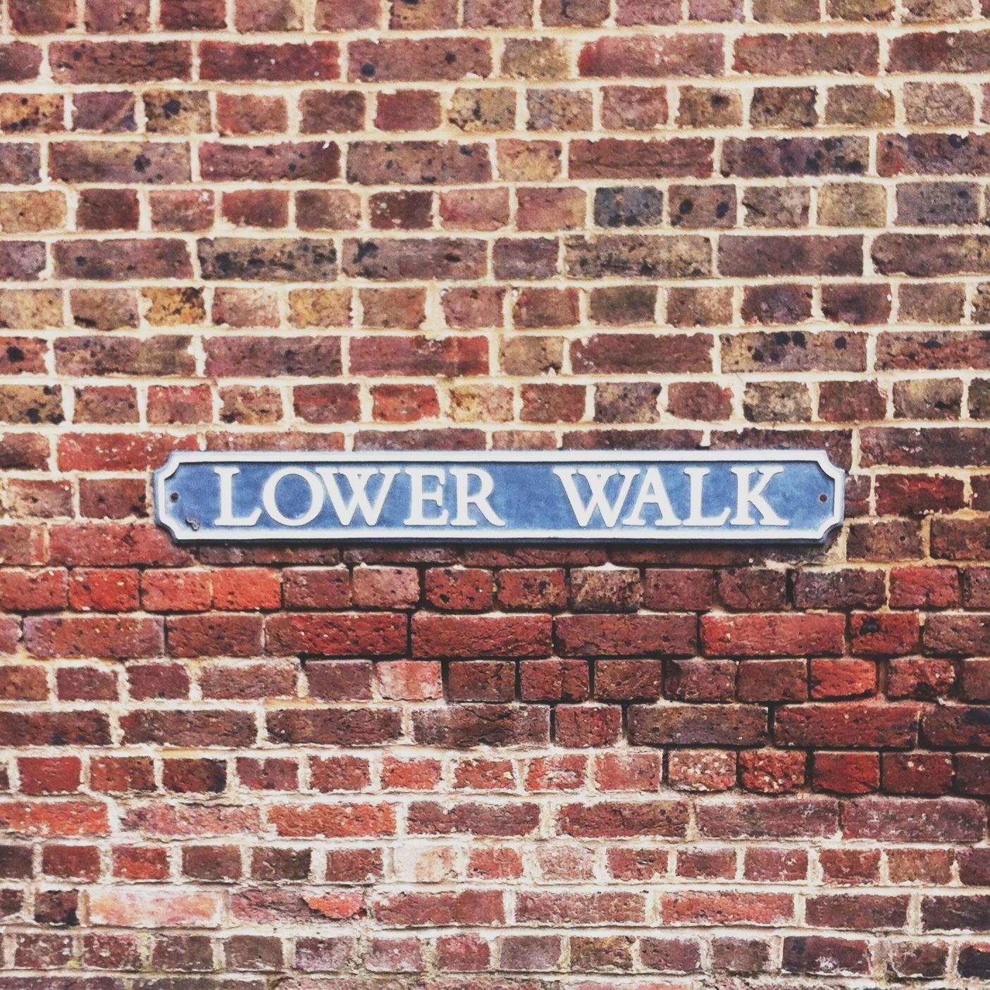 photo: lower walk, the pantiles