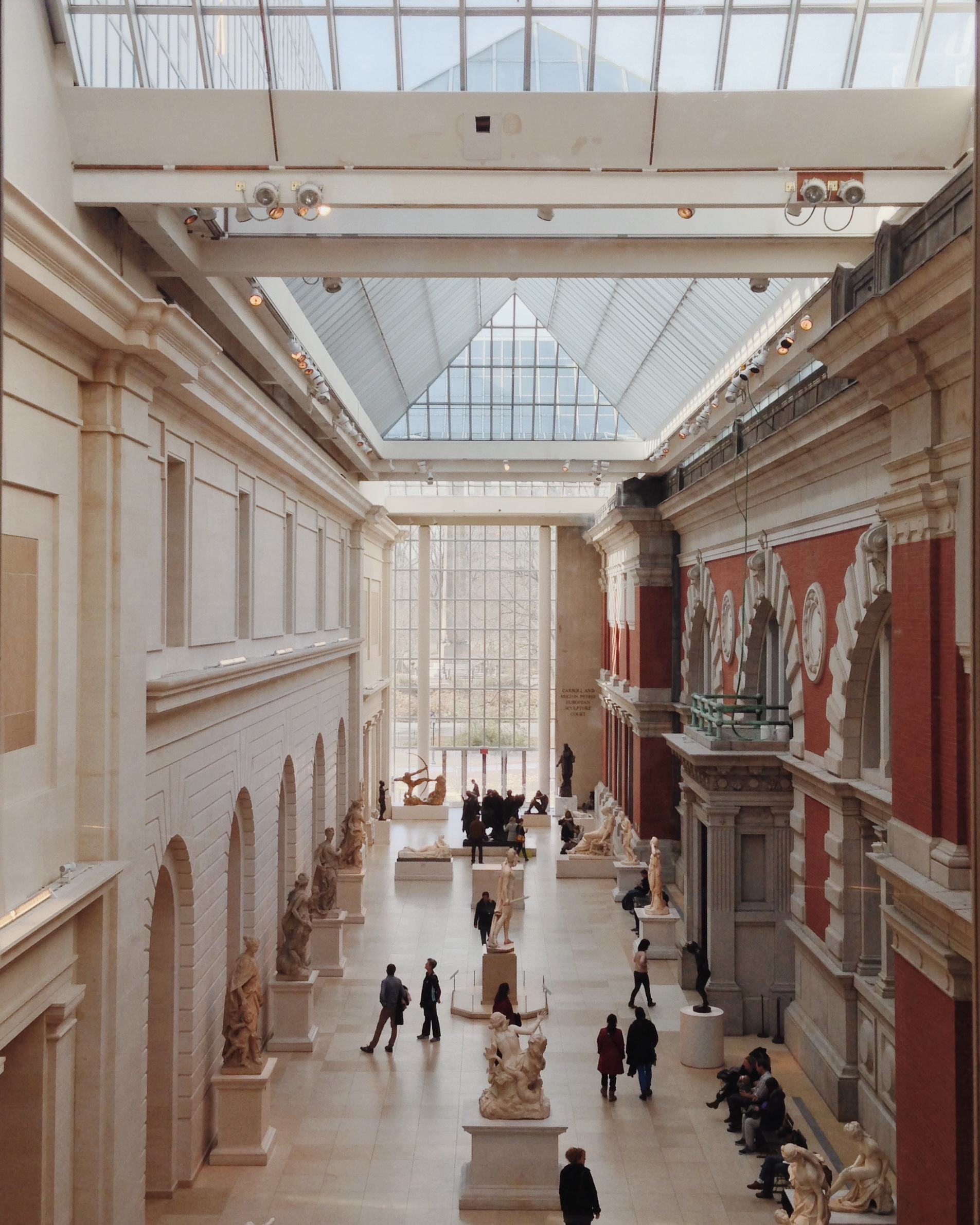 moseying around the Met