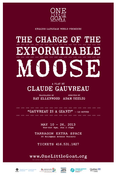 The Charge of the Expormidable Moose