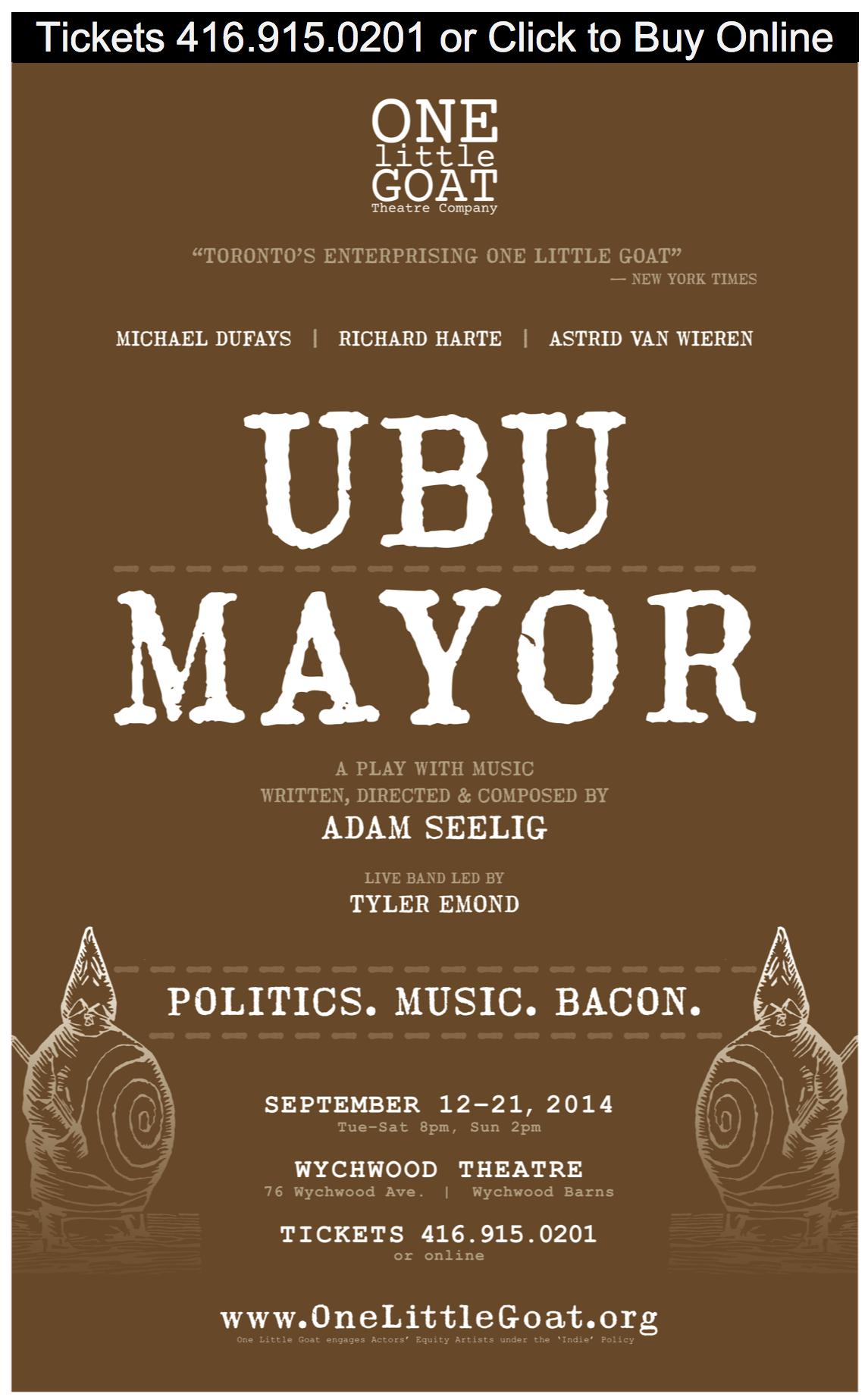 Ubu Mayor poster