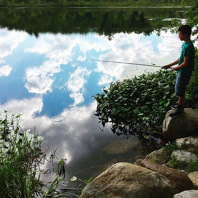 Gone Fishing....photo by Shannon K. Culpepper #fishing #outdoors #nature #goodlife #kidsaremeanttobeoutside