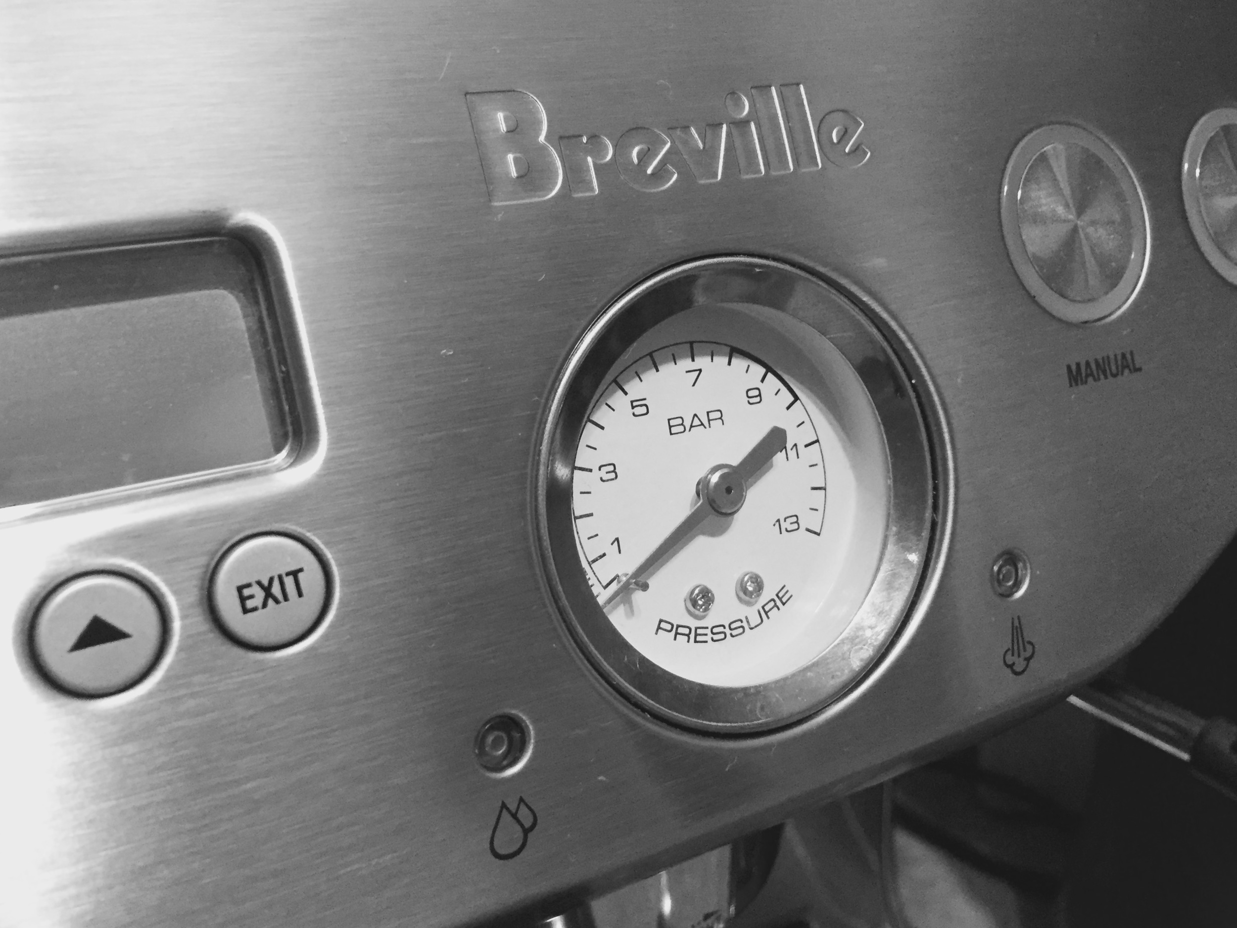 Brew Pressure Gauge