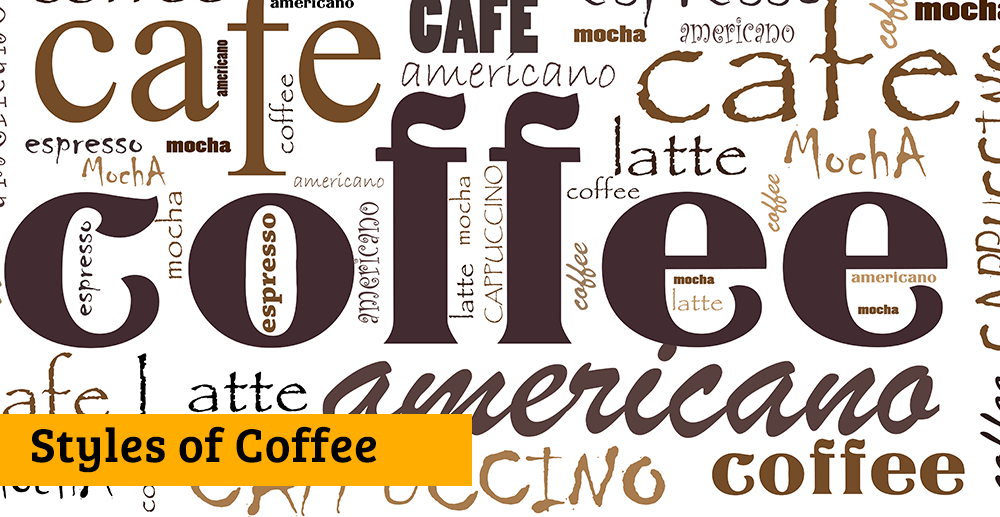 Styles of Coffee Banner