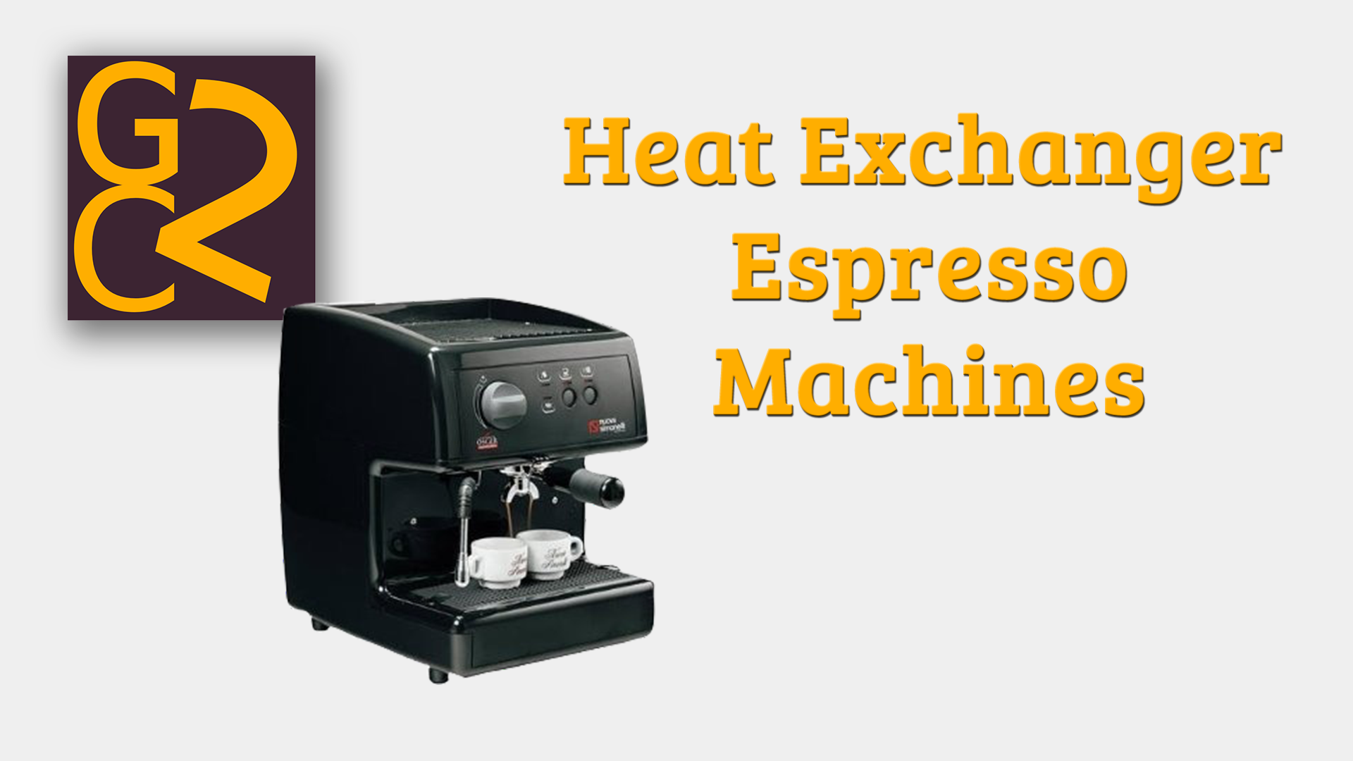 Heat Exchanger Espresso Machines