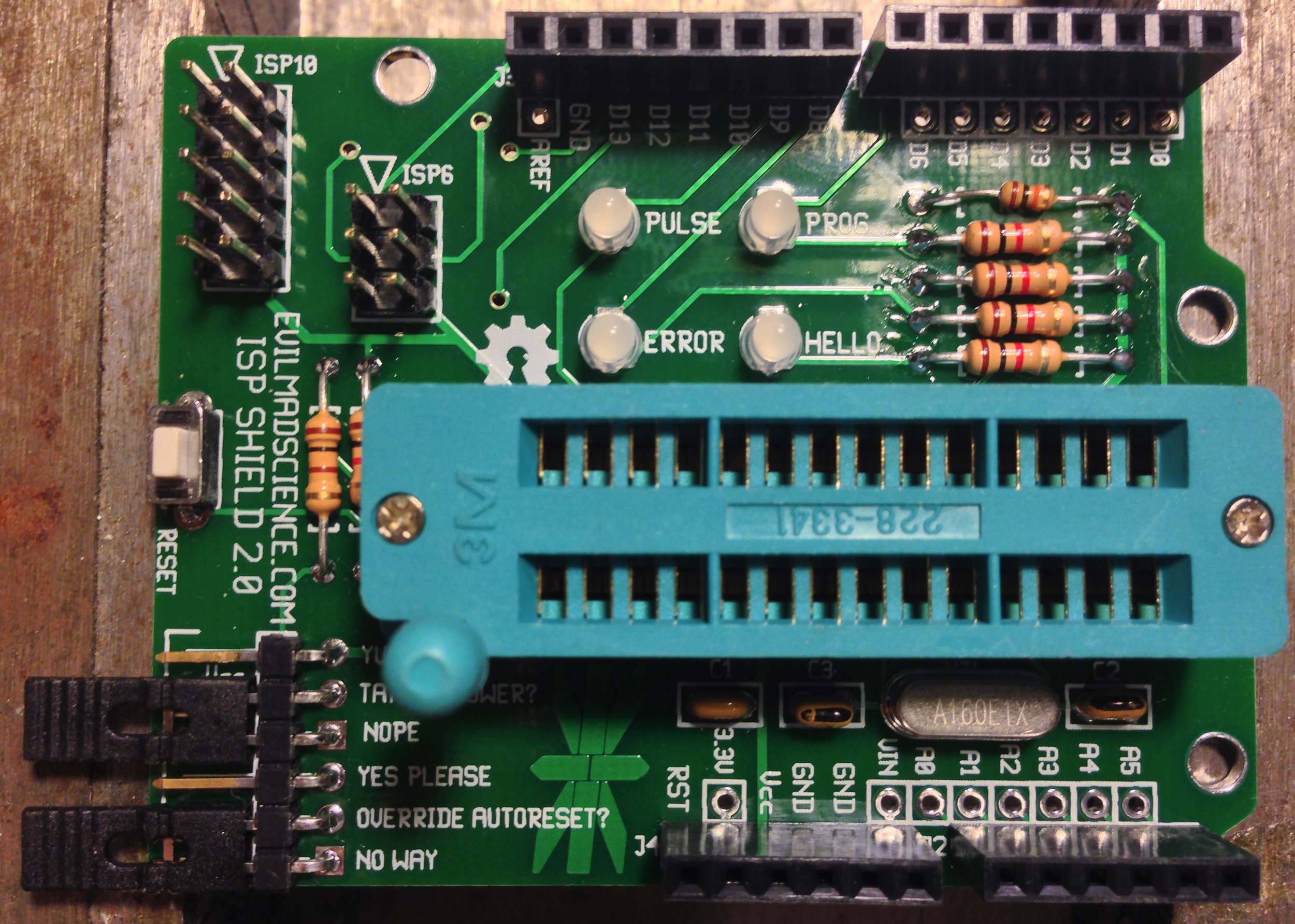 iPhone picture - Arduino ISP shield