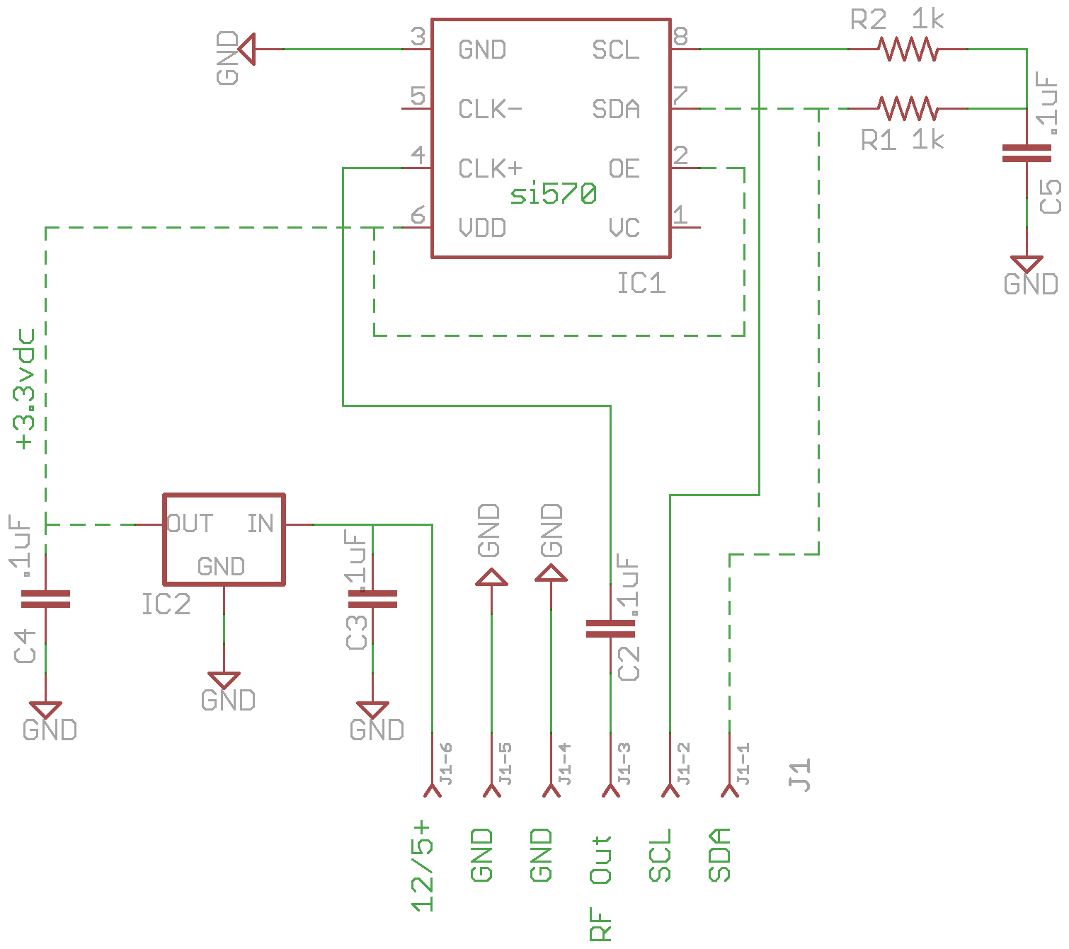 si570 controller card example in Eagle