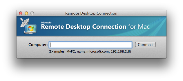 RDP Client for the Mac