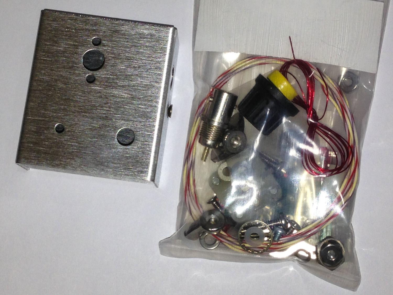 iPhone photo - parts bag & case