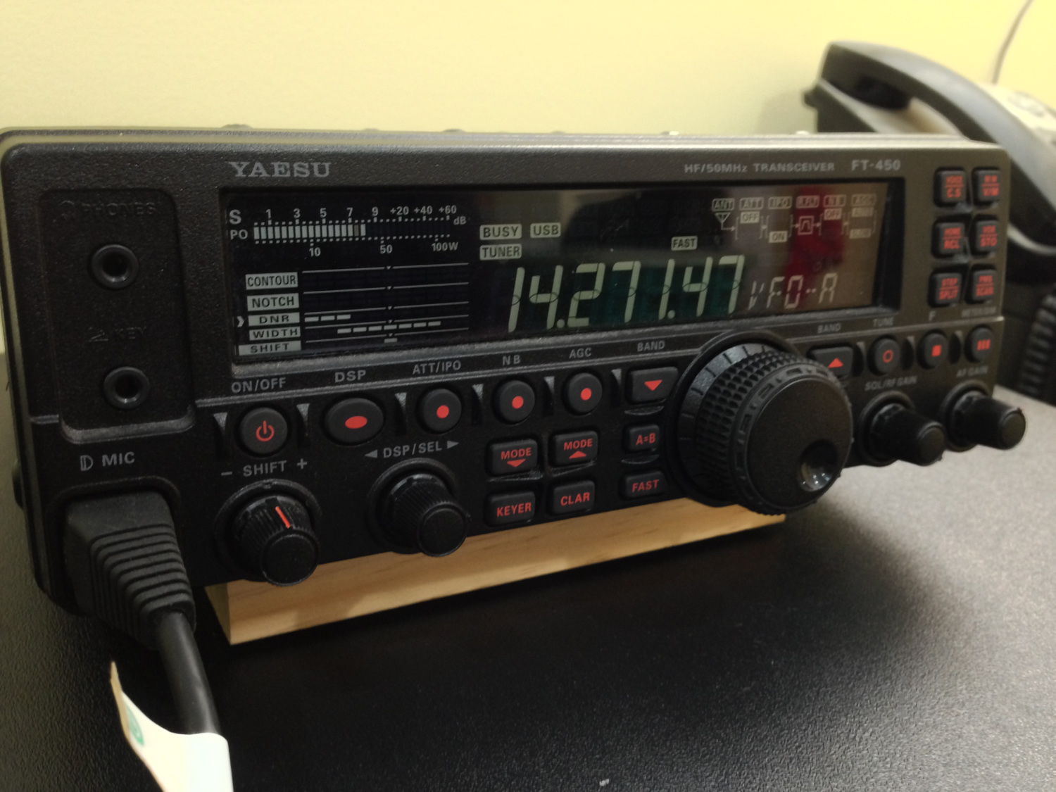 iPhone photo - FT450AT for the SSB ops