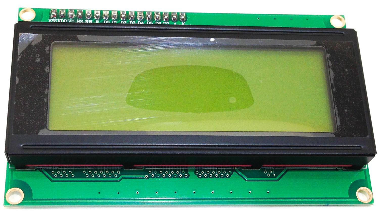 iPhone photo - 20x4 I2C LCD