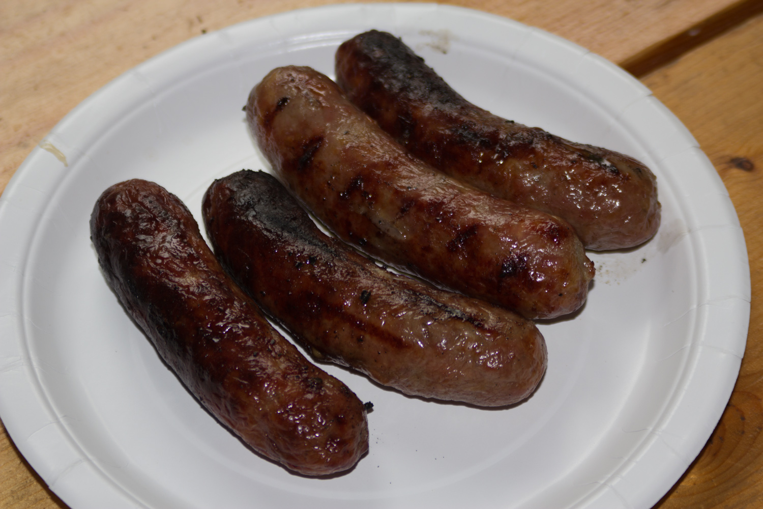 Brats for a couple of meals