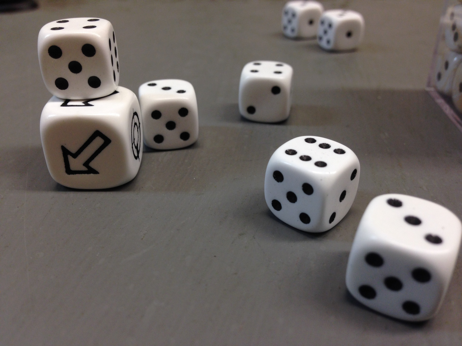 Another role of the dice