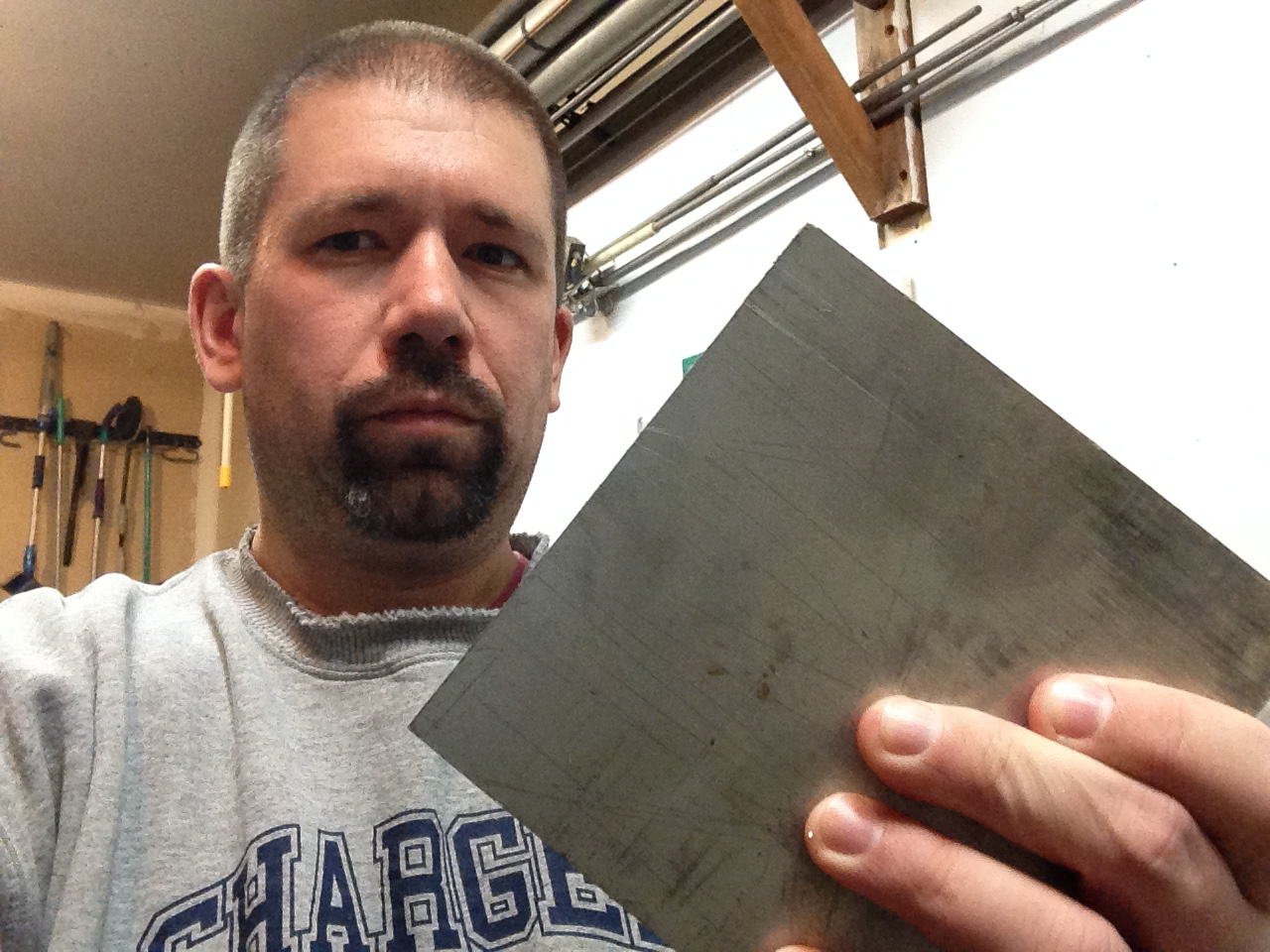 I am the proud owner of a 6lbs chunk of 6016 aluminum
