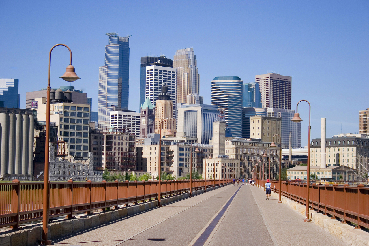 Minneapolis - People travel with us to this destination for both business as pleasure. Driving to Minneapolis from Bismarck takes about 6 hours, but if you fly with us you can get there in just over an hour. Many of our customers travel here just for a day or two to take care of business or enjoy a night in the cities. If you're a Viking fan with VIP tickets, what better feeling is there than to arrive in a private jet, just a few hours before the game starts?