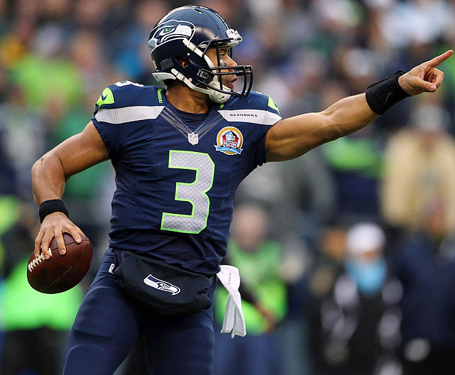 RUSSELL WILSON , SEATTLE SEAHAWKS (Kevin Casey/Getty IMages)
