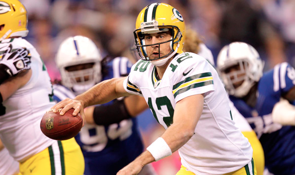 AARON RODGERS , GREEN BAY PACKERS  (Michael Conroy/AP Photo)
