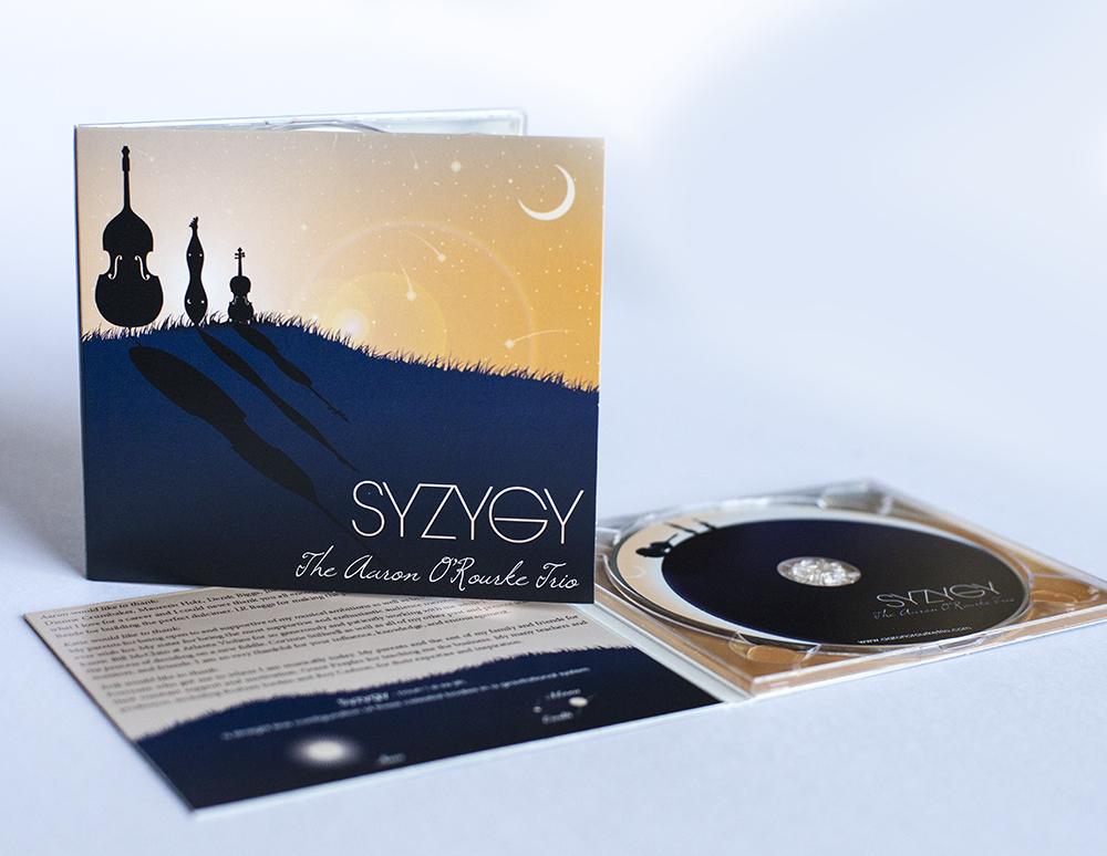 CD Artwork Digipack Layout & Disc Design