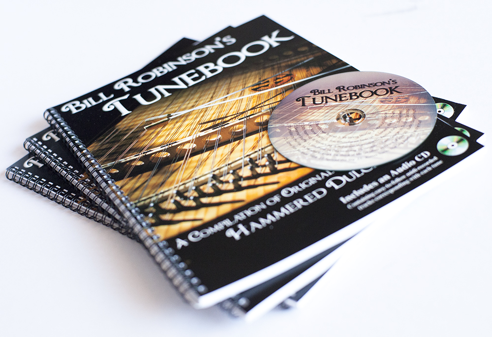 Spiral-bound book cover, interior layout, CD design